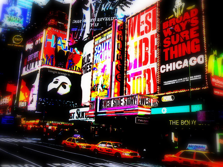 On Funky Broadway Photograph