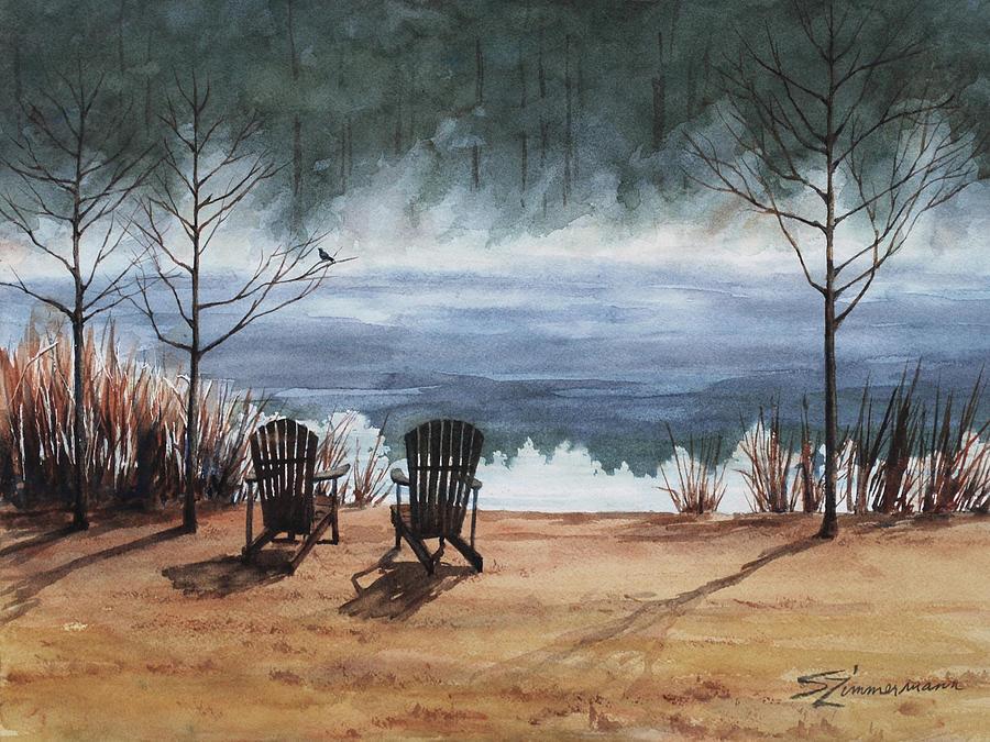 On Golden Pond by Sue Zimmermann