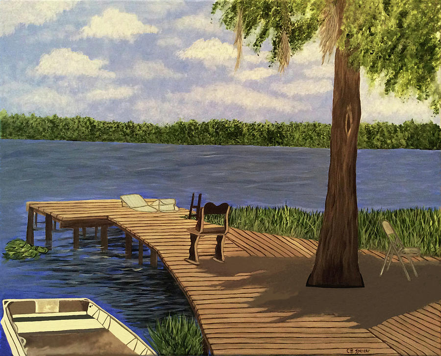 On Hickory Pond by Connie Spencer