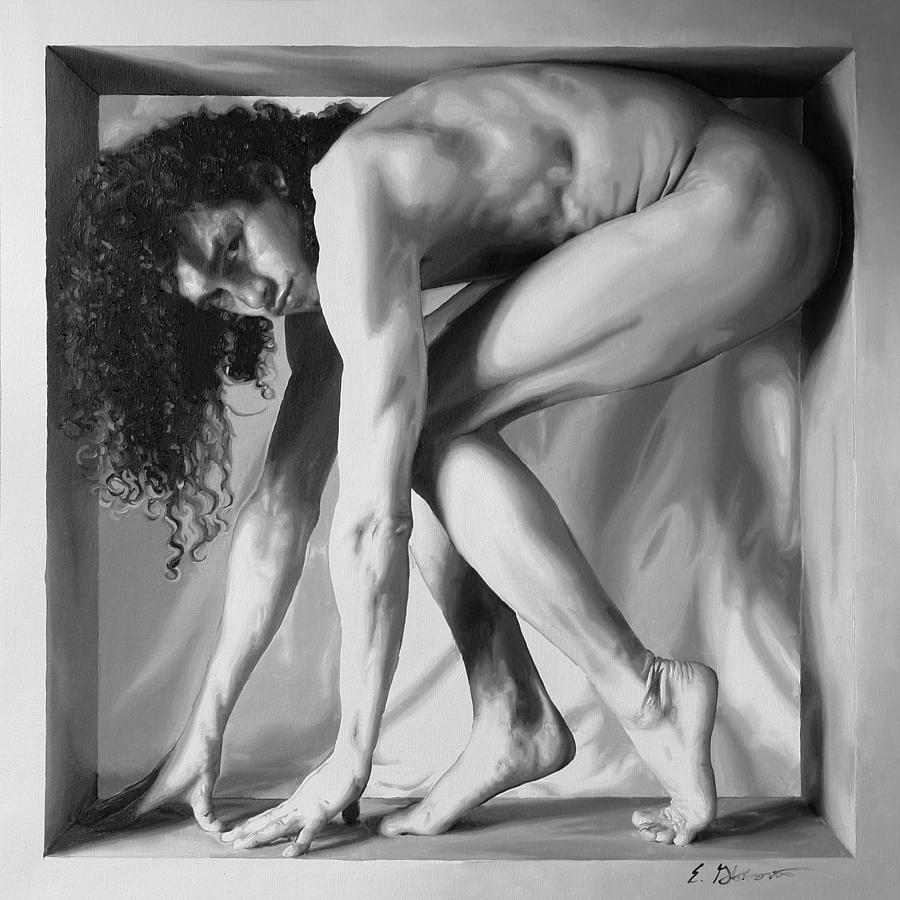Male Painting - On Point by E Gibbons
