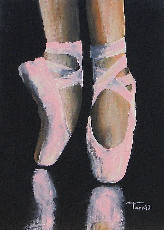 Ballet Painting - On Point  by Torrie Smiley