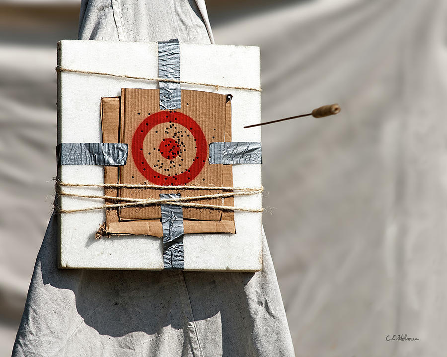 Blowgun Photograph - On Target by Christopher Holmes