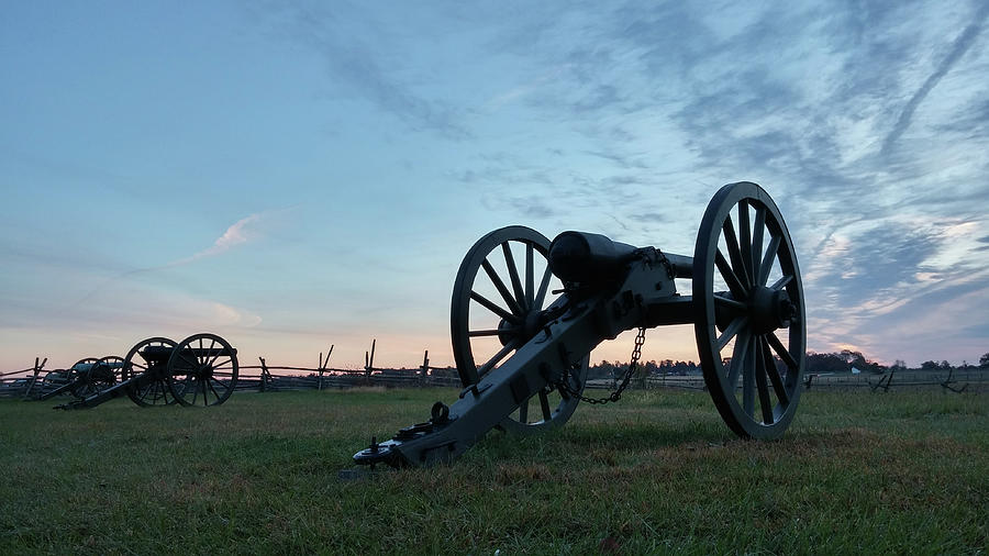 Cannons Photograph - On The Battlefield by Liza Eckardt