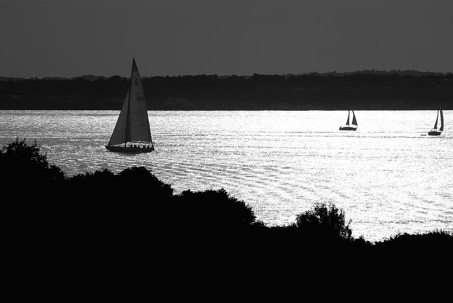 Beach Photograph - On the Bay by Mark Wiley