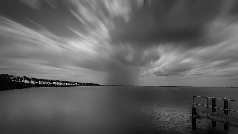 Clouds Photograph - On The Bay by Todd Rogers