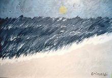 Impressionist Print - On The Beach by Edward  Grimaldi