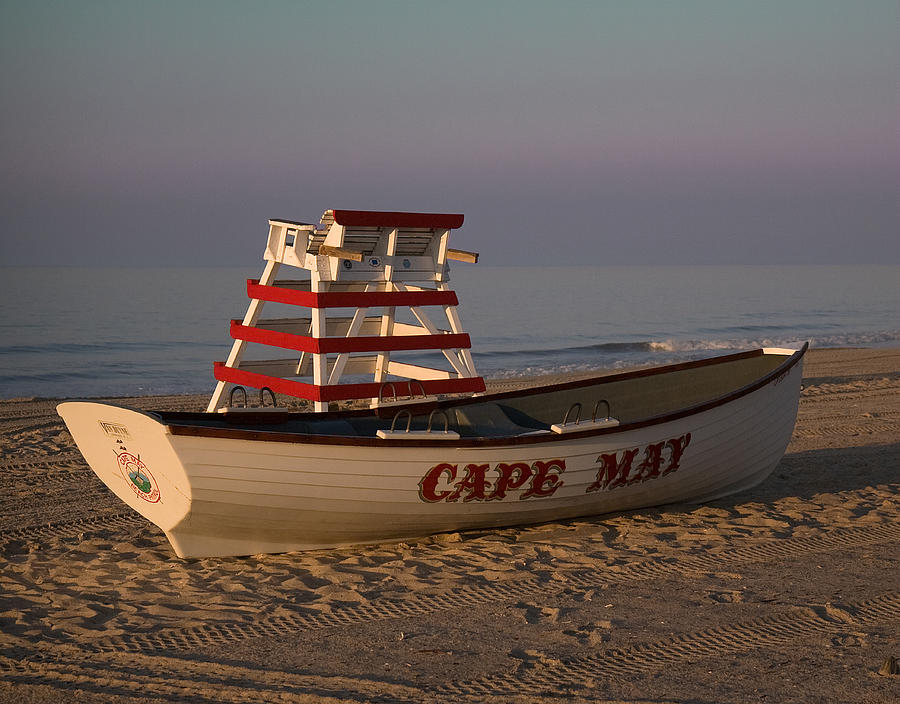 Cape May Photograph - On The Beach by Robert Pilkington
