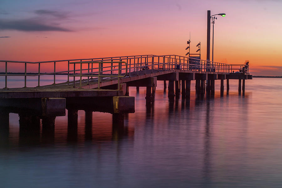 Old Tampa Bay Photograph - On The Dock Of The Bay by Todd Rogers