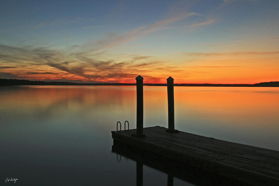 Sunset Photograph - On The Dock by Phill Doherty