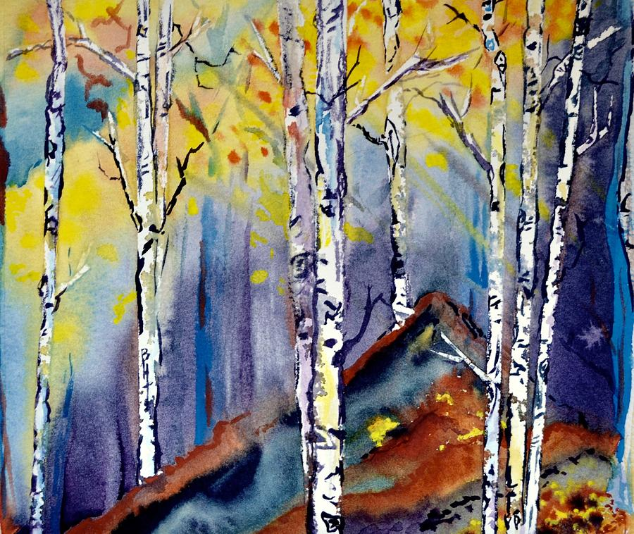 On The Edge Painting - On The Edge by Beverley Harper Tinsley