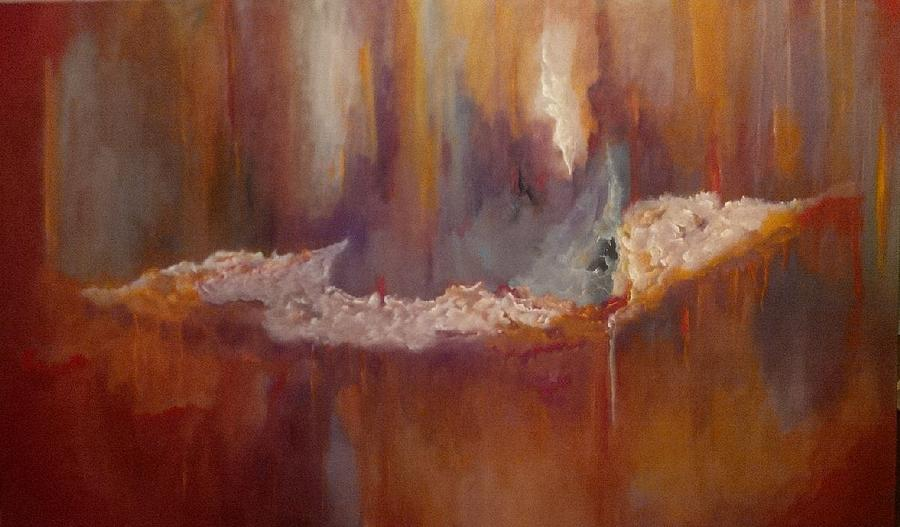 On The Edge Painting