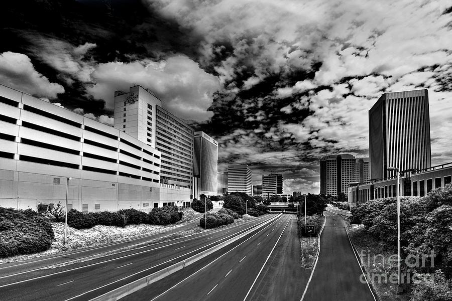Downtown Photograph - On The Expressway by Tim Wilson