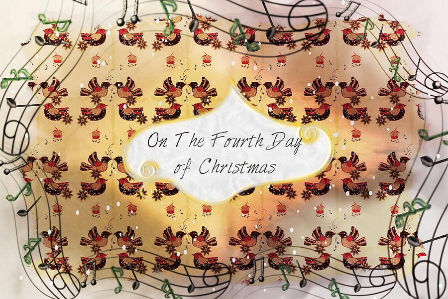 On The Fourth Day of Christmas by Sherry Flaker