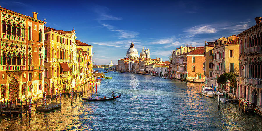 On The Grand Canal Photograph