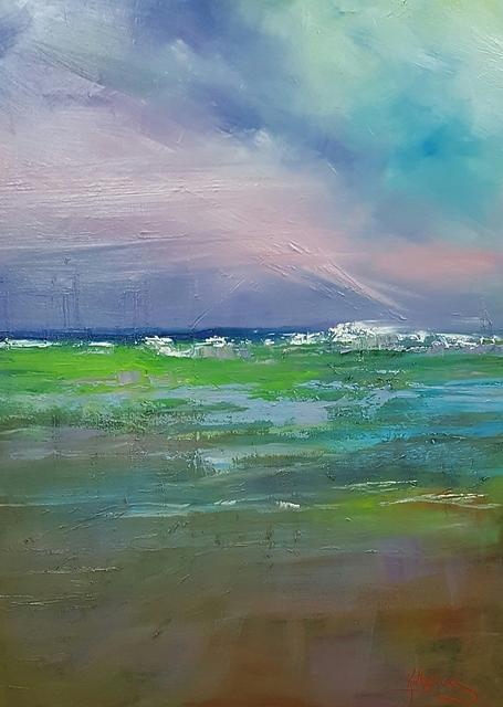 On the horizon by Kathy  Karas