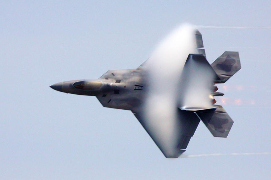 F-22 Photograph - On The Infinite Highway by Mitch Cat