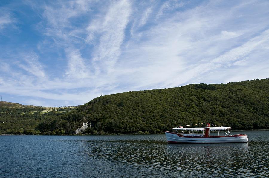 Boat Photograph - On The Lake by Svetlana Sewell