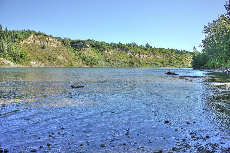On the North Saskatchewan River by Jim Sauchyn