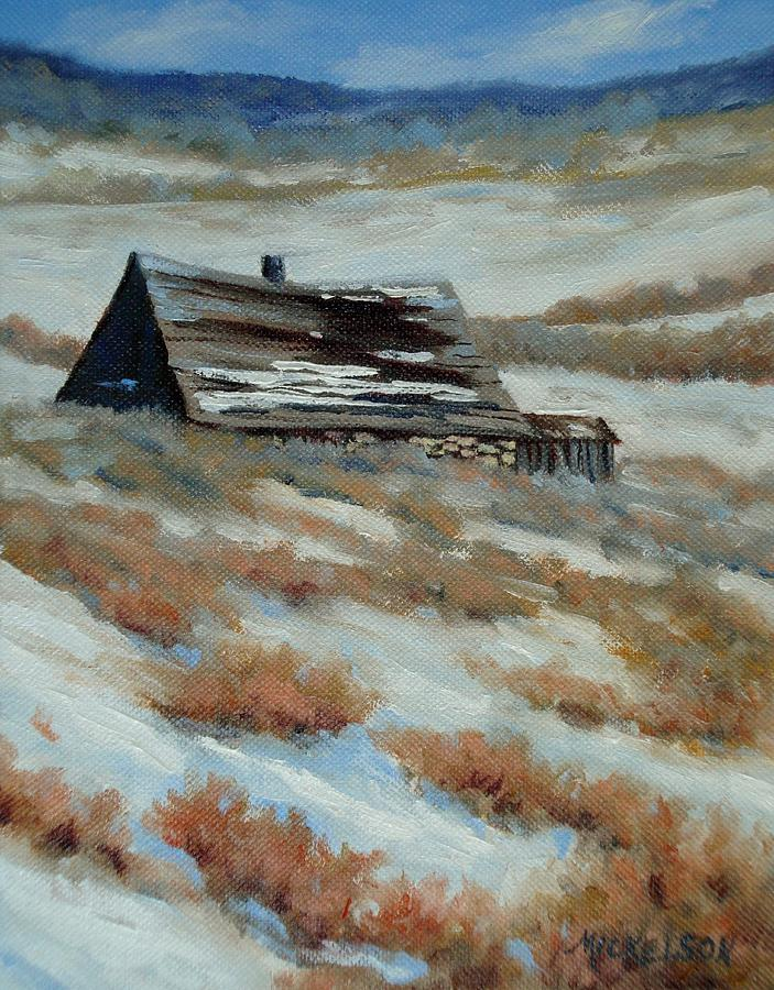 Ranch Painting - On The Old Whirl Ranch by Debra Mickelson