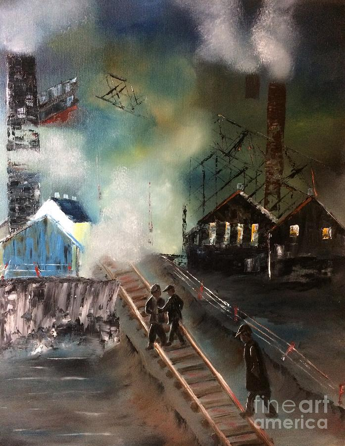 On The Pennsylvania Tracks by DENISE TOMASURA