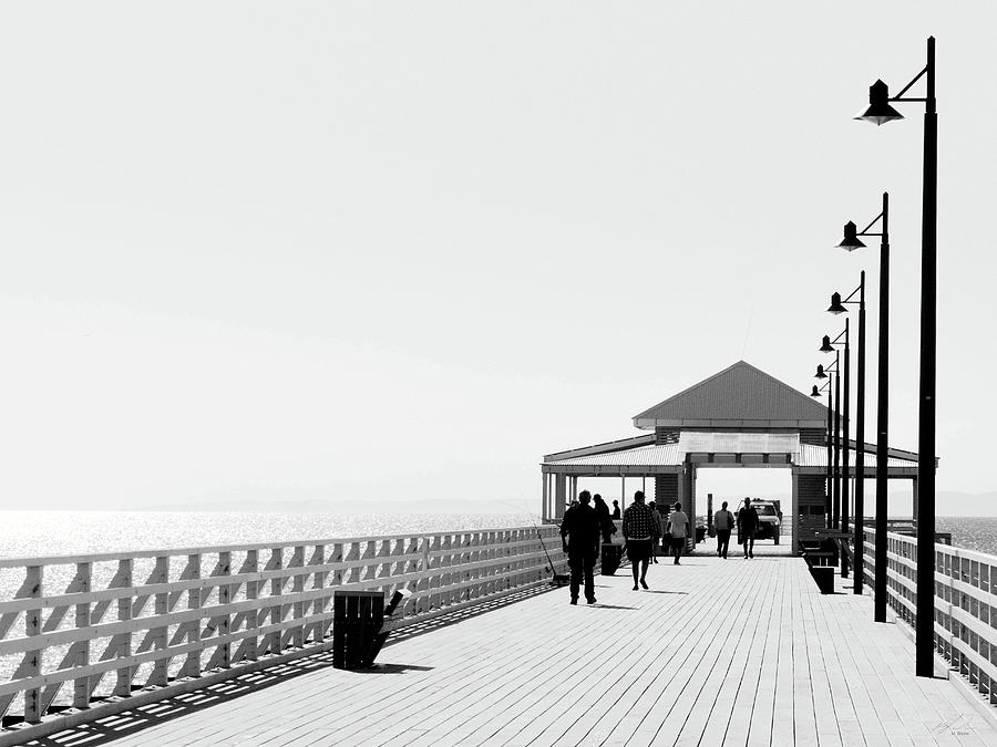 on the pier by Michael Blaine