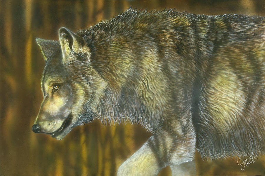 On The Prowl Painting by Wayne Pruse