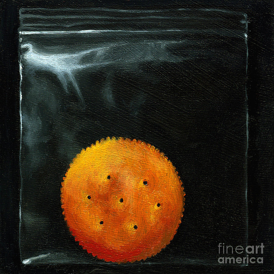 Ritz Cracker Painting - On The Ritz by Linda Apple