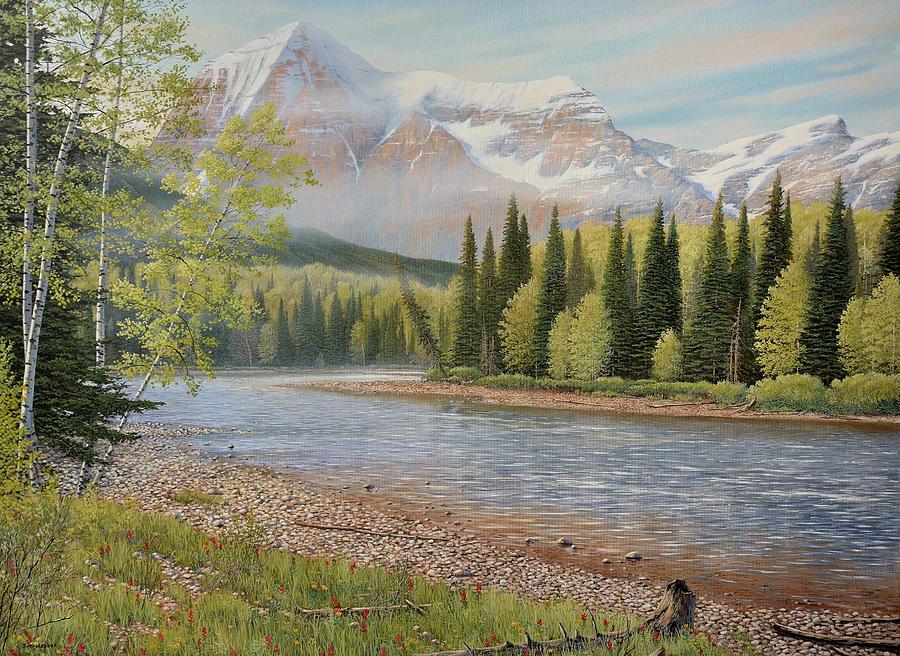 On The Riverside by Jake Vandenbrink