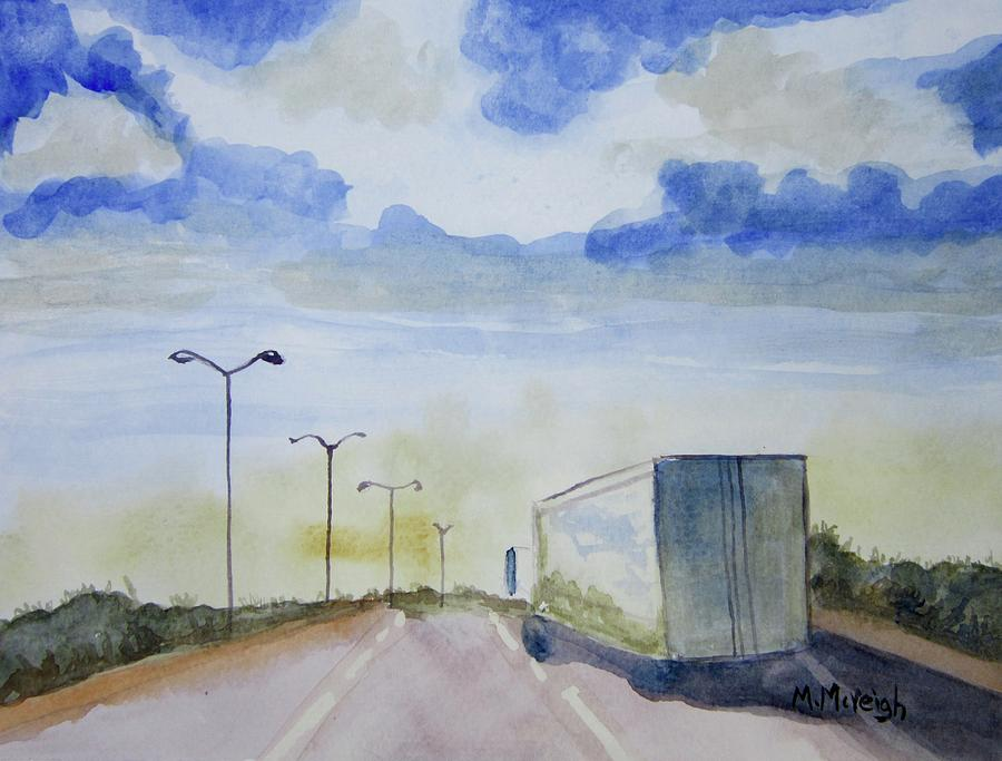 Truck Painting - On The Road Again by Marita McVeigh