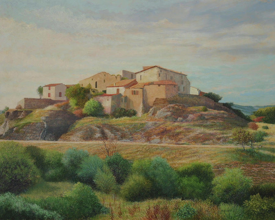 On the Road to Manosque I by E Colin Williams ARCA