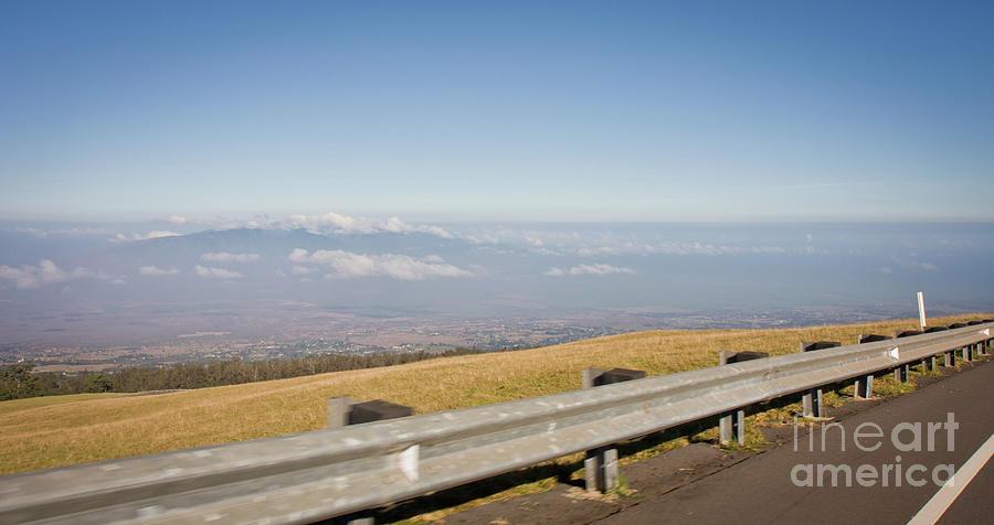 Adventure Photograph - On the Road to Maui Haleakala Summit by Denis Dore