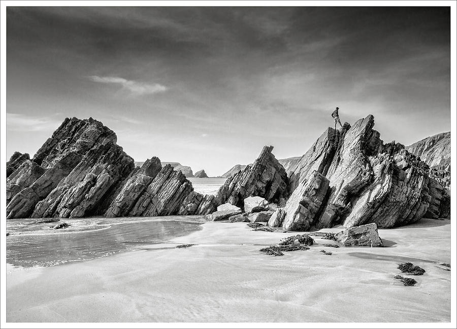 On the rocks by Richard Greswell