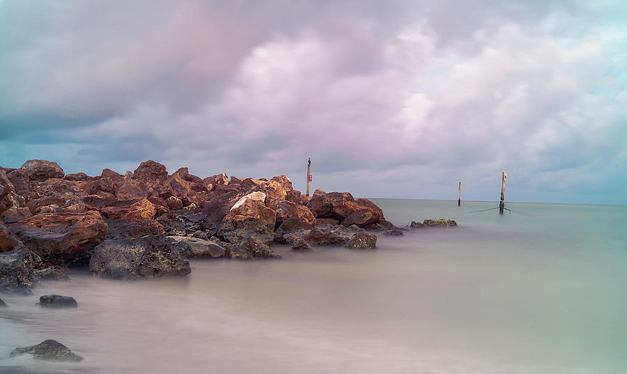 Clearwater Beach Photograph - On The Rocks by Todd Rogers