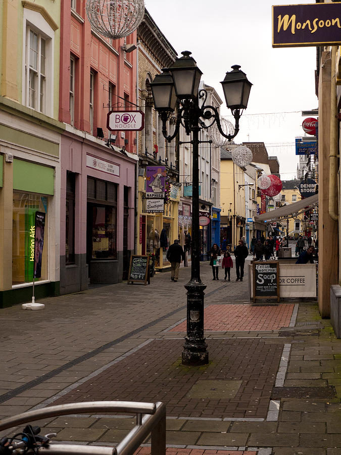 Cork Photograph - On The Street In Cork by Rae Tucker