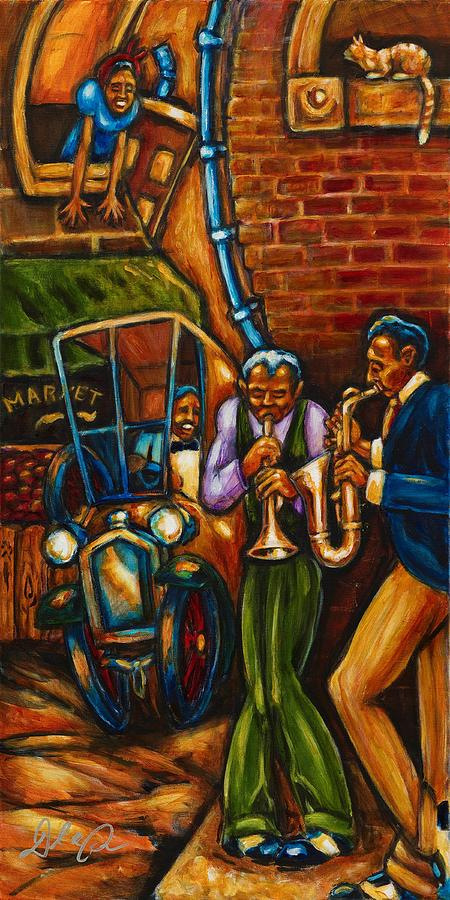 African American Artwork Painting - On The Sunnyside by Daryl Price