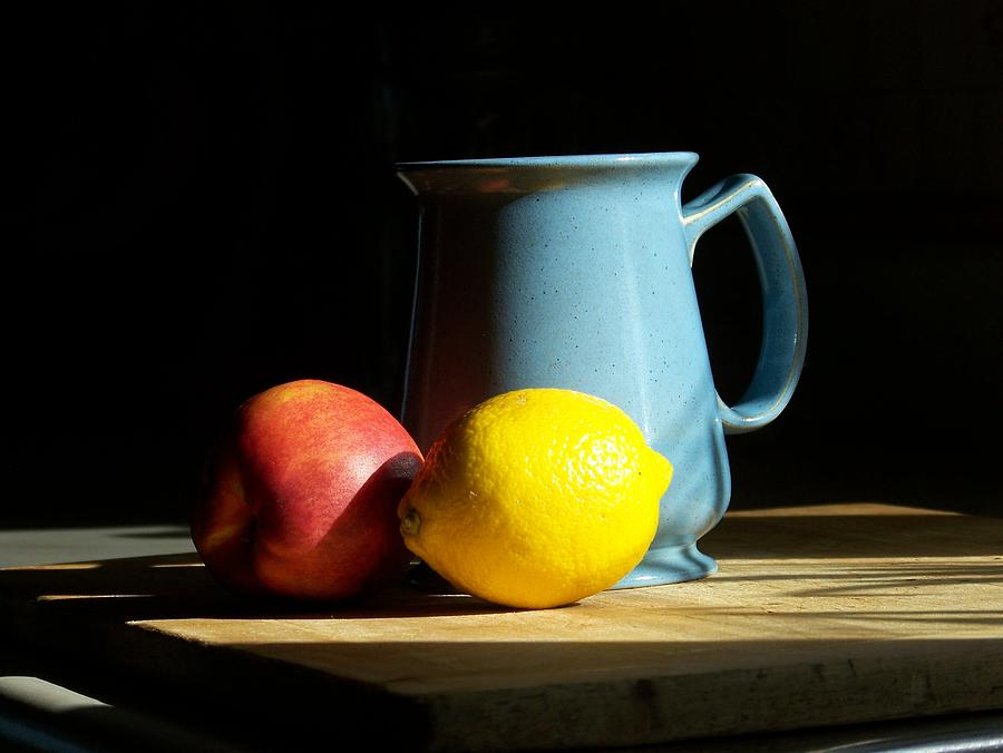 Still Life Photograph - On The Table 1- Photograph by Jackie Mueller-Jones