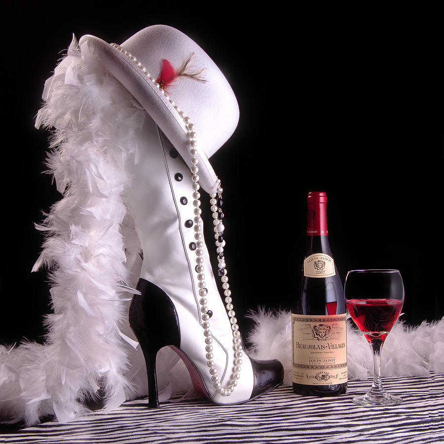 Boot Photograph - On The Town by Tom Mc Nemar