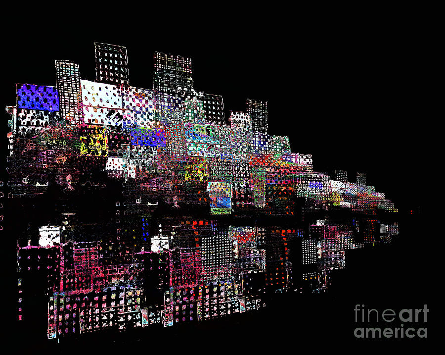 Waterfront Digital Art - On The Waterfront 2 by Andy  Mercer
