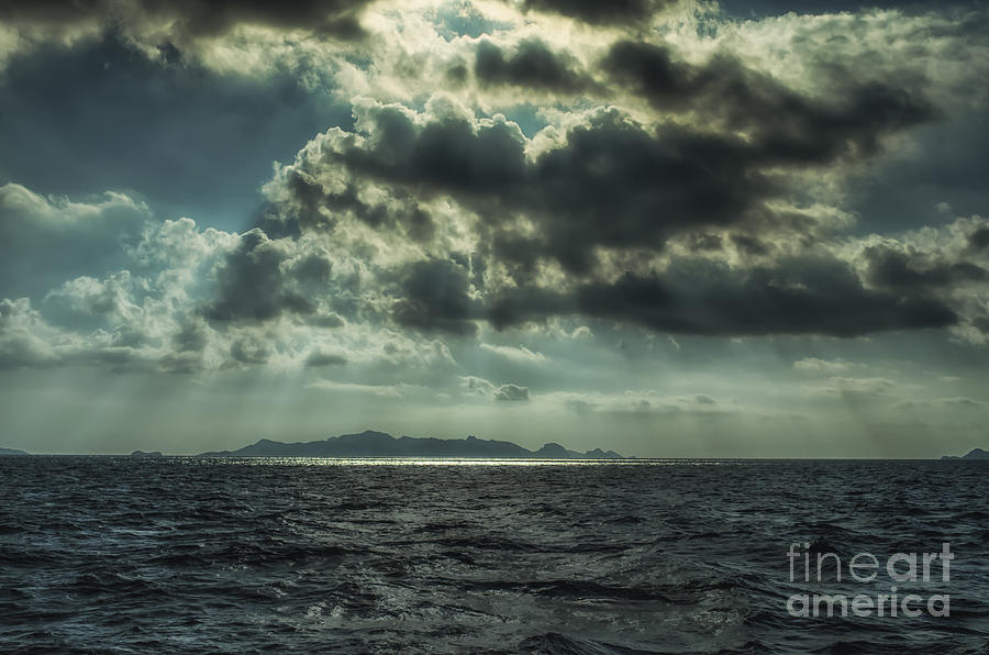Sky Photograph - On The Way Back Home by Michelle Meenawong