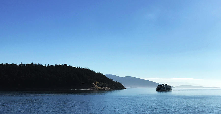 On the Way To Orcas by Lorraine Devon Wilke