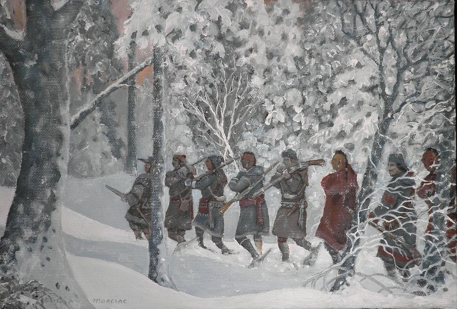 On The Way To Schenectady Painting by Giacomo Alessandro Morotti