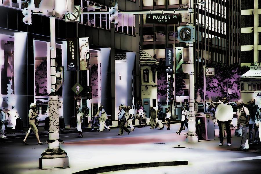 On Wacker by Bruce Richardson
