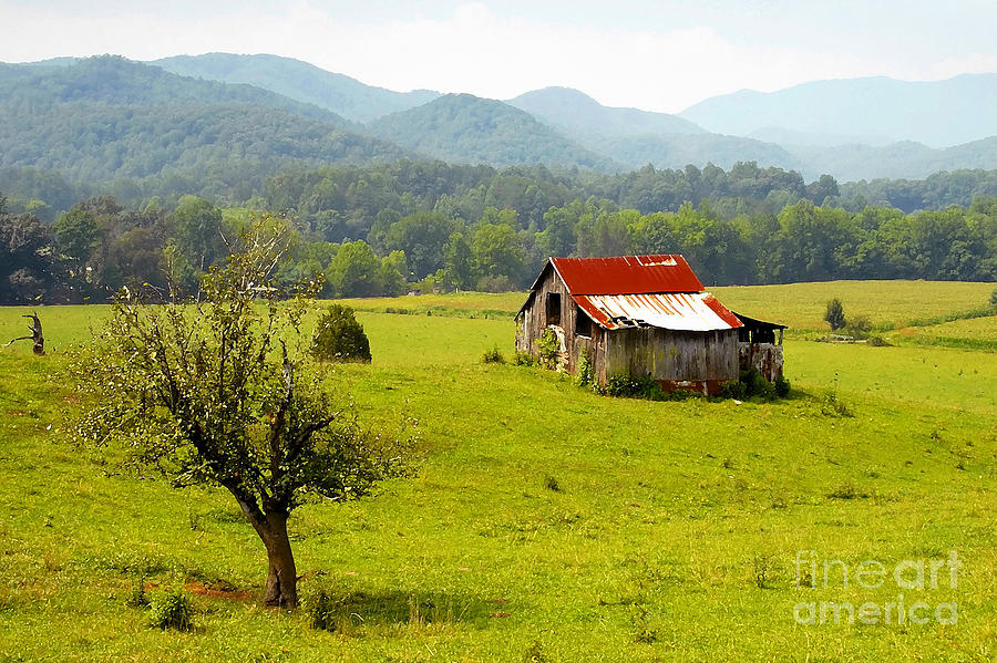 Farm Photograph - Once Upon A Time by David Lee Thompson