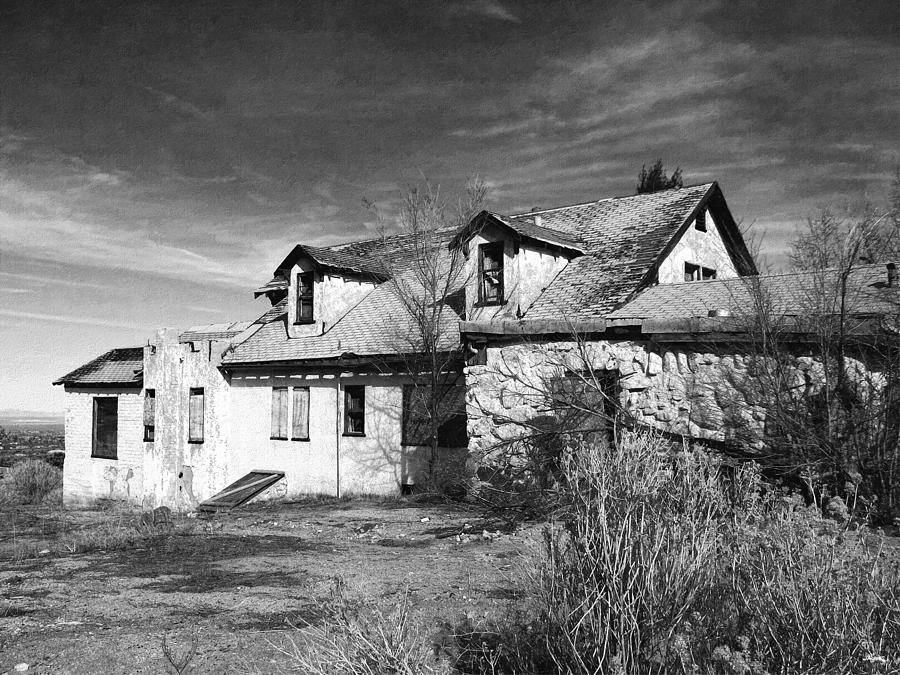 Old House Photograph - Once Upon A Time In The Desert 2 by Glenn McCarthy Art and Photography