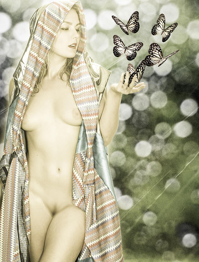 Butterflies Photograph - Once Upon A Time by Rob Worx