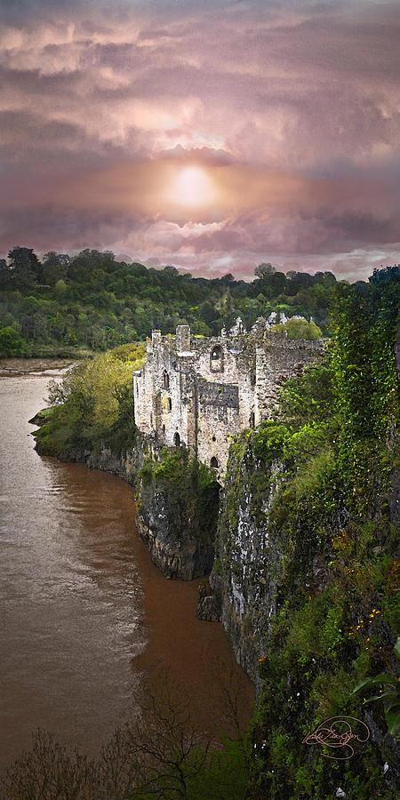 Castle Ruins Digital Art - Once Upon A Time by Vicki Lea Eggen