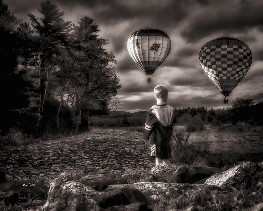 Boy Photograph - One Boys Dream by Bob Orsillo