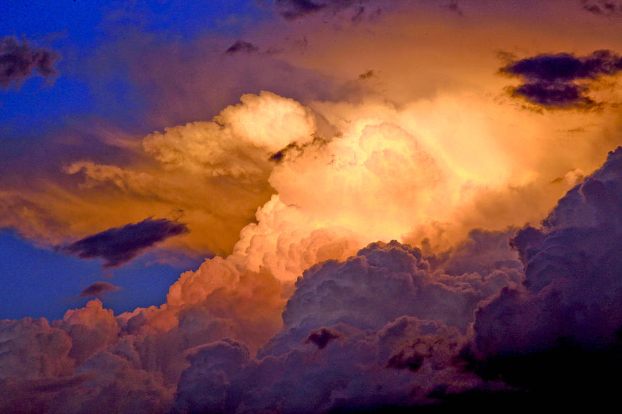 One Cloudy Afternoon Photograph by James Steele