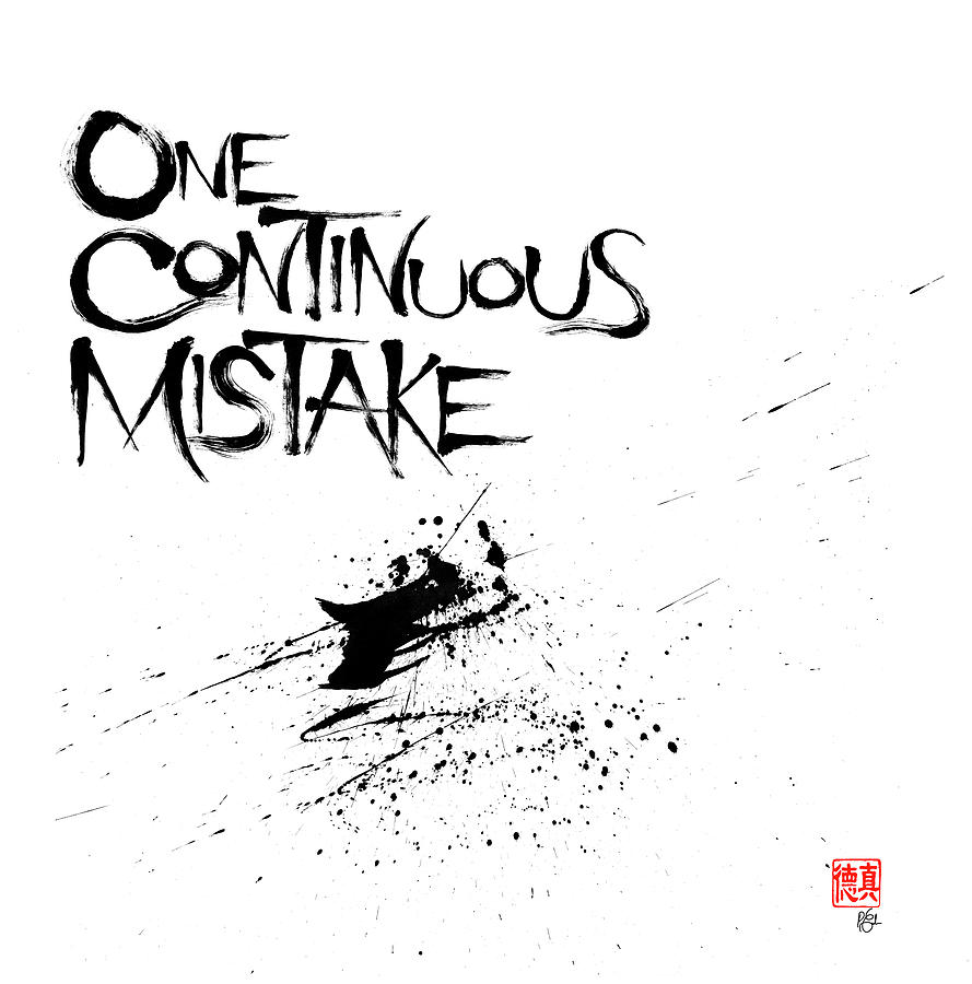 One Continuous Mistake by Peter Cutler