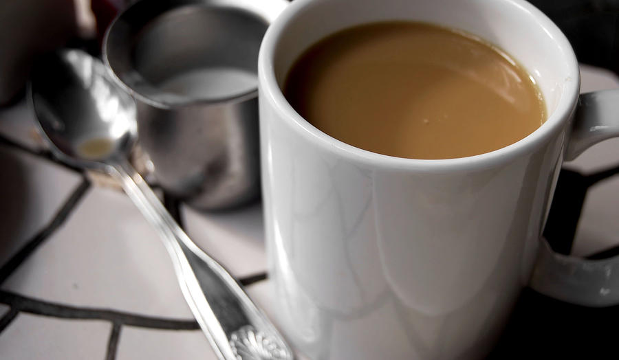 Coffee Photograph - One Cup Of Coffee by JAMART Photography